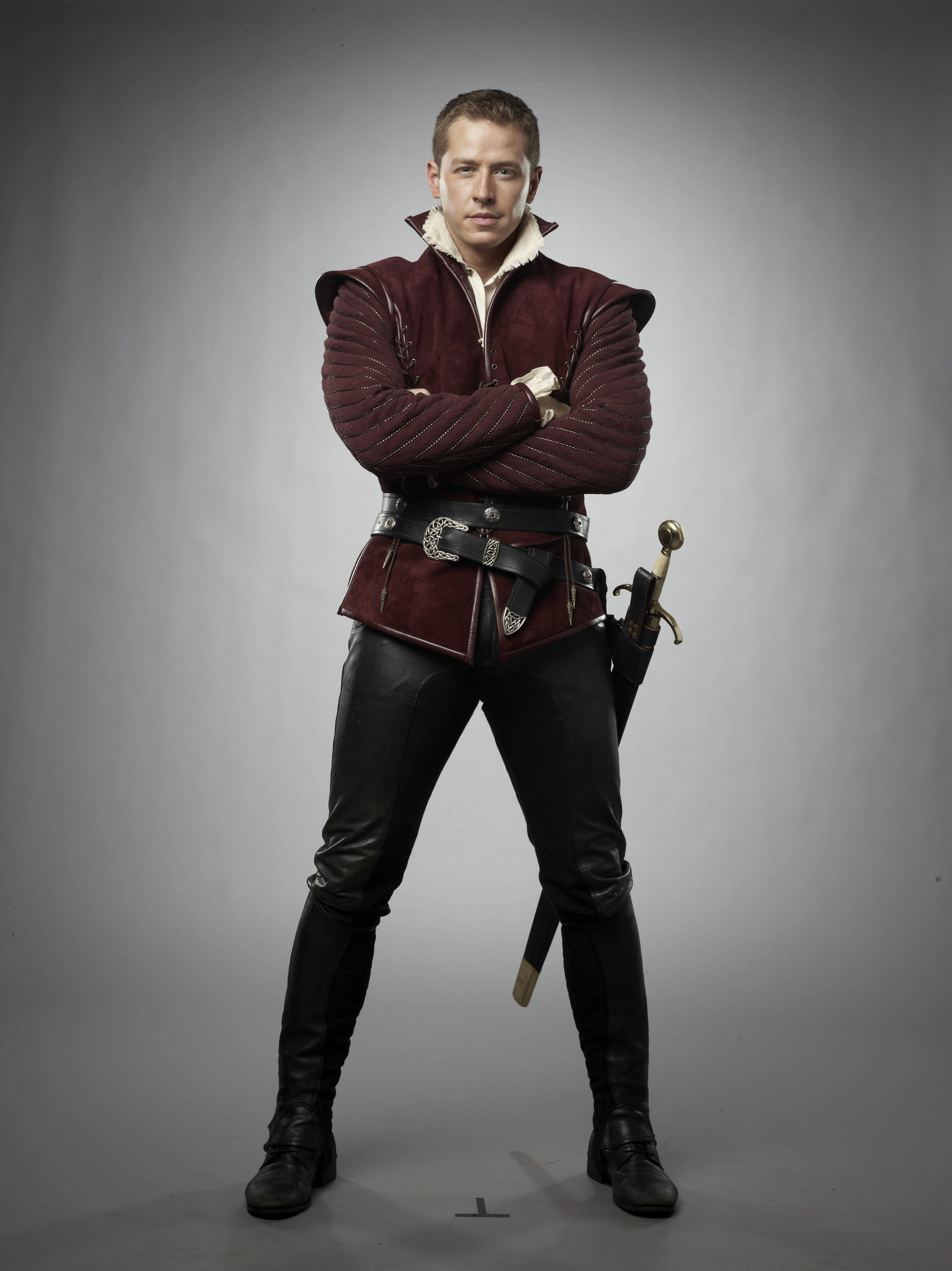 Once Upon A Time S2 Josh Dallas As David Nolan Prince Charming