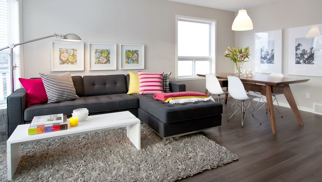 Gus* Modern | Natalie Fuglestveit Interior Design adds her touch in the interior of this : gus modern jane bi sectional - Sectionals, Sofas & Couches