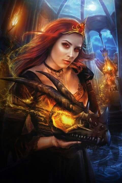 Dragon Female Warrior