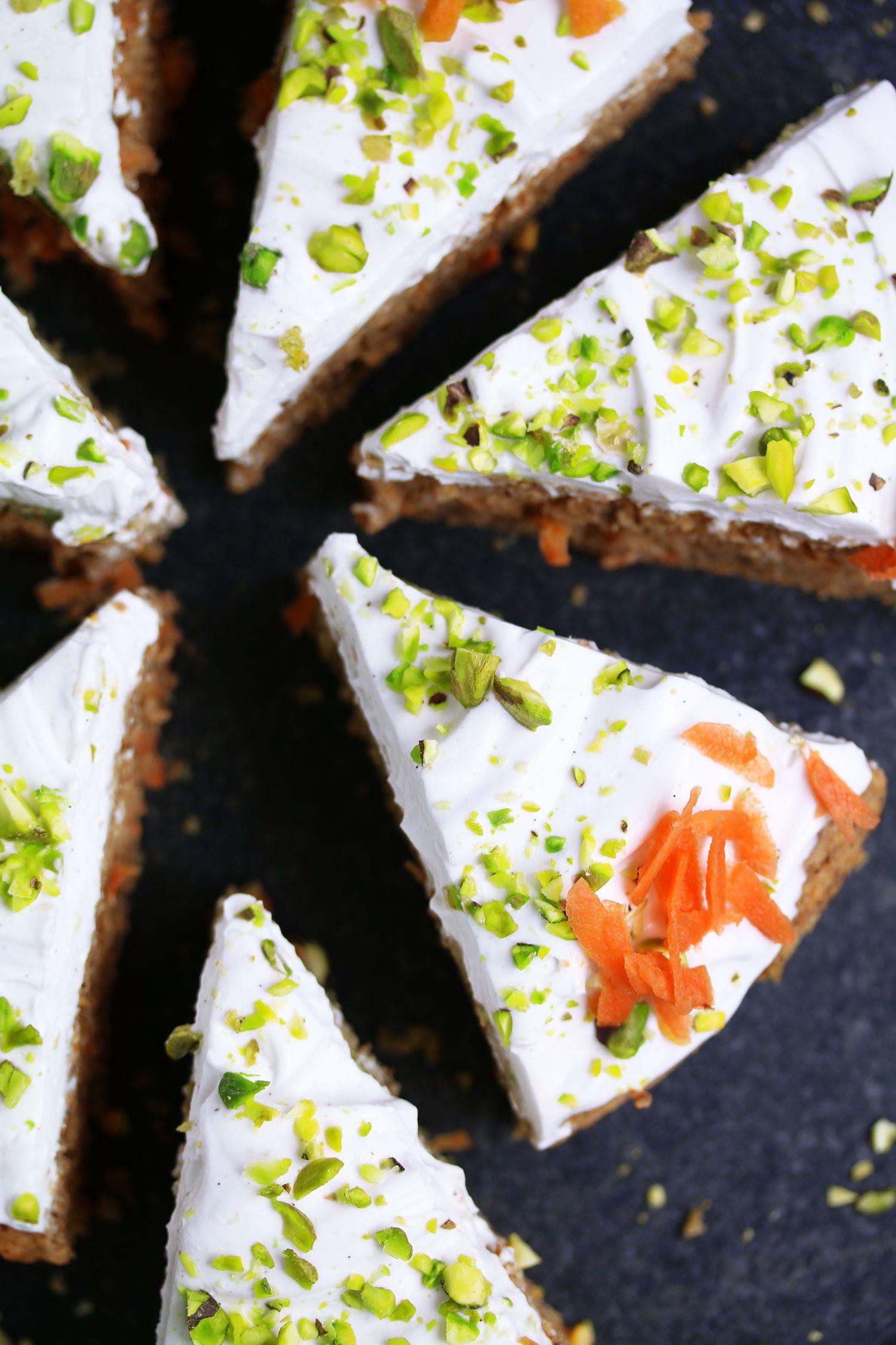 Vegan Glutenfree Carrot Cake UK Health Blog Nadia's