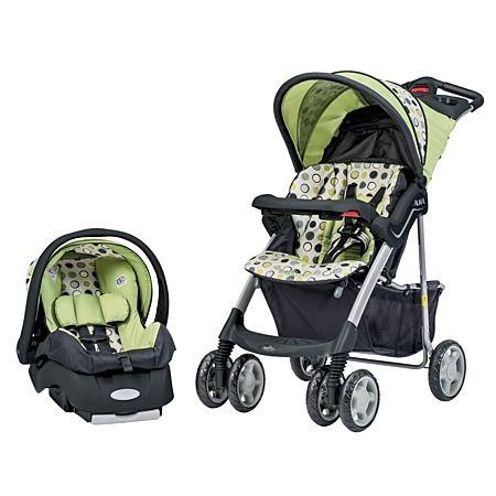 Evenflo Aura Travel System Stroller and Infant Embrace Car ...