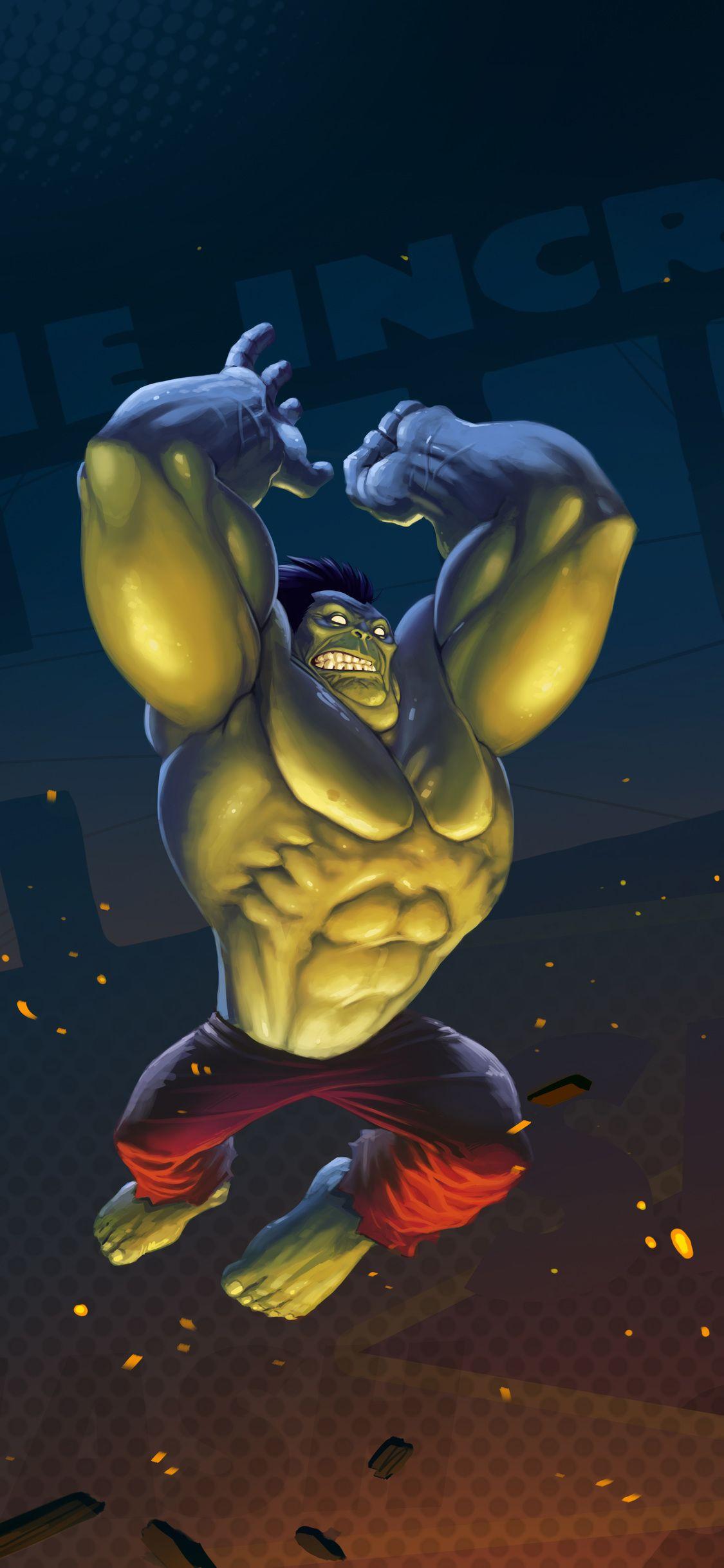 Hulk Artwork Iphone X Marvel Comics Hulk Hulk Artwork Hulk Marvel