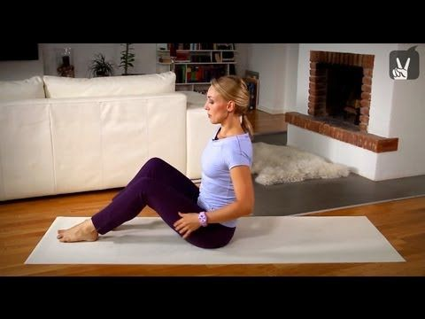 Bauch Vollprogramm: Pilates Mittelstufe - 20 Min | German #pilatesworkoutvideos