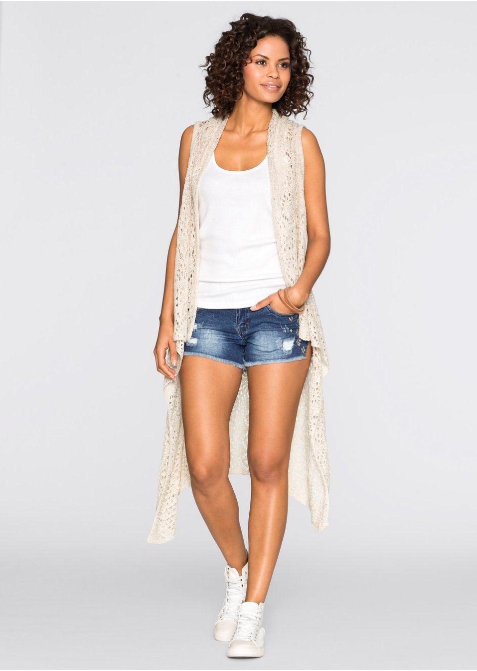 Pletená vesta S asymetrickým strihom • 9.99 € • bonprix