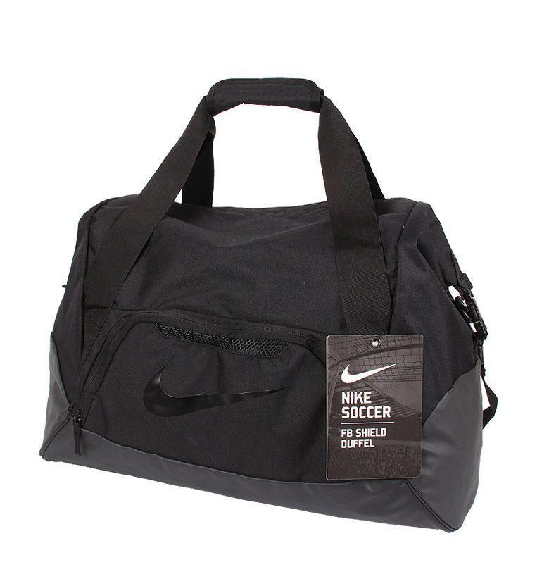 Nike Football Shield Duffel Bags Sports Shoulder Bag Gym Golf Tennis  BA5084-001  Nike  DuffleGymBag ad7610e309652