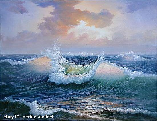 Paisajes Marinos Para Pintar Al Oleo Imagui Www Imagui Com550 425buscar Por Imagen Envio Libre 100 Pintado A Mano Pint Seascape Art Painting Oil Ocean Art