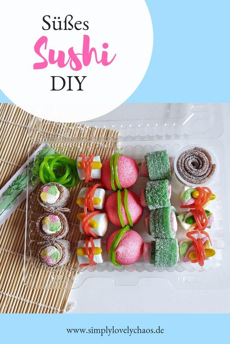 Süßes Sushi DIY - Geschenkidee - SIMPLYLOVELYCHAOS
