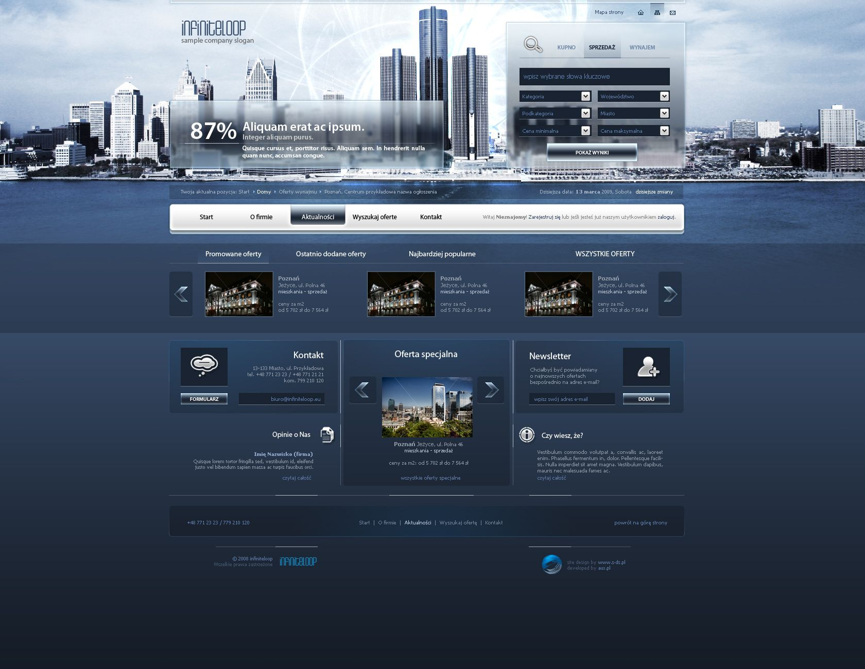 website layout 81 by ~tehacesequence on deviantART | Web design ...