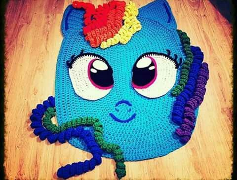 Alfombra de my little pony de trapillo. | Ideas crochet | Pinterest ...