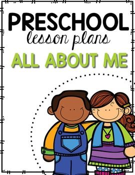preschool lesson plans all about me  preschool lesson