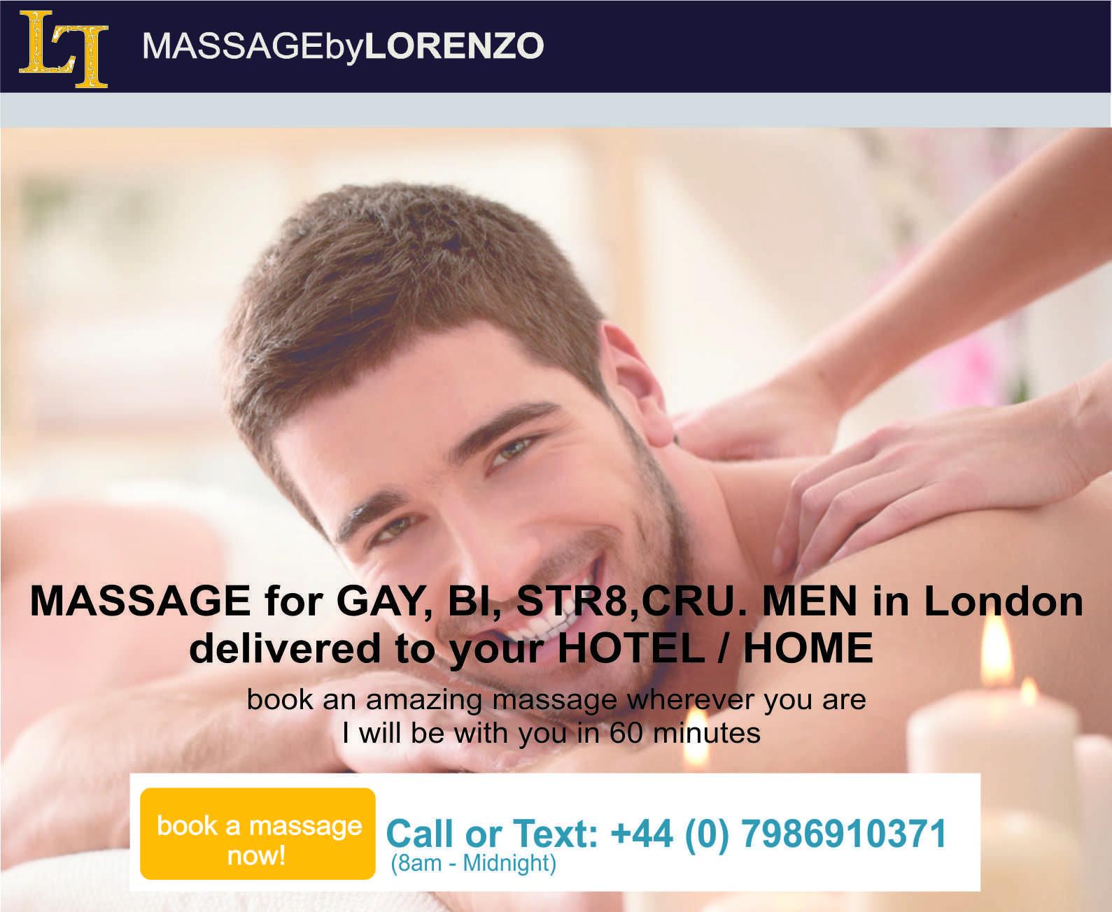 Gay therapudic massage