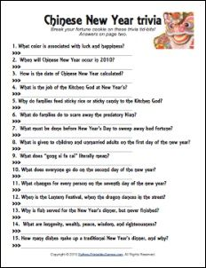 printable chinese new year trivia game