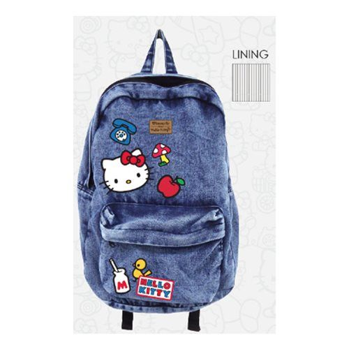 Hello Kitty Icon Patch Backpack - Loungefly - Hello Kitty - Backpacks at  Entertainment Earth 45a4bfce5e