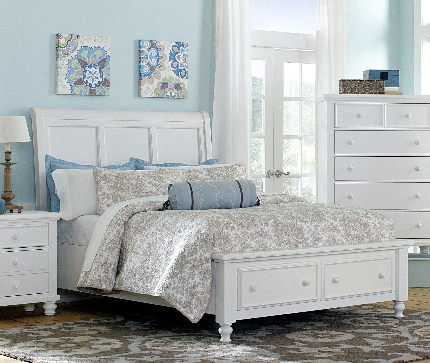 white wood sleigh beds furniture bedroom furniture sleigh bed white queen sleigh bed - White Wood Bedroom Furniture