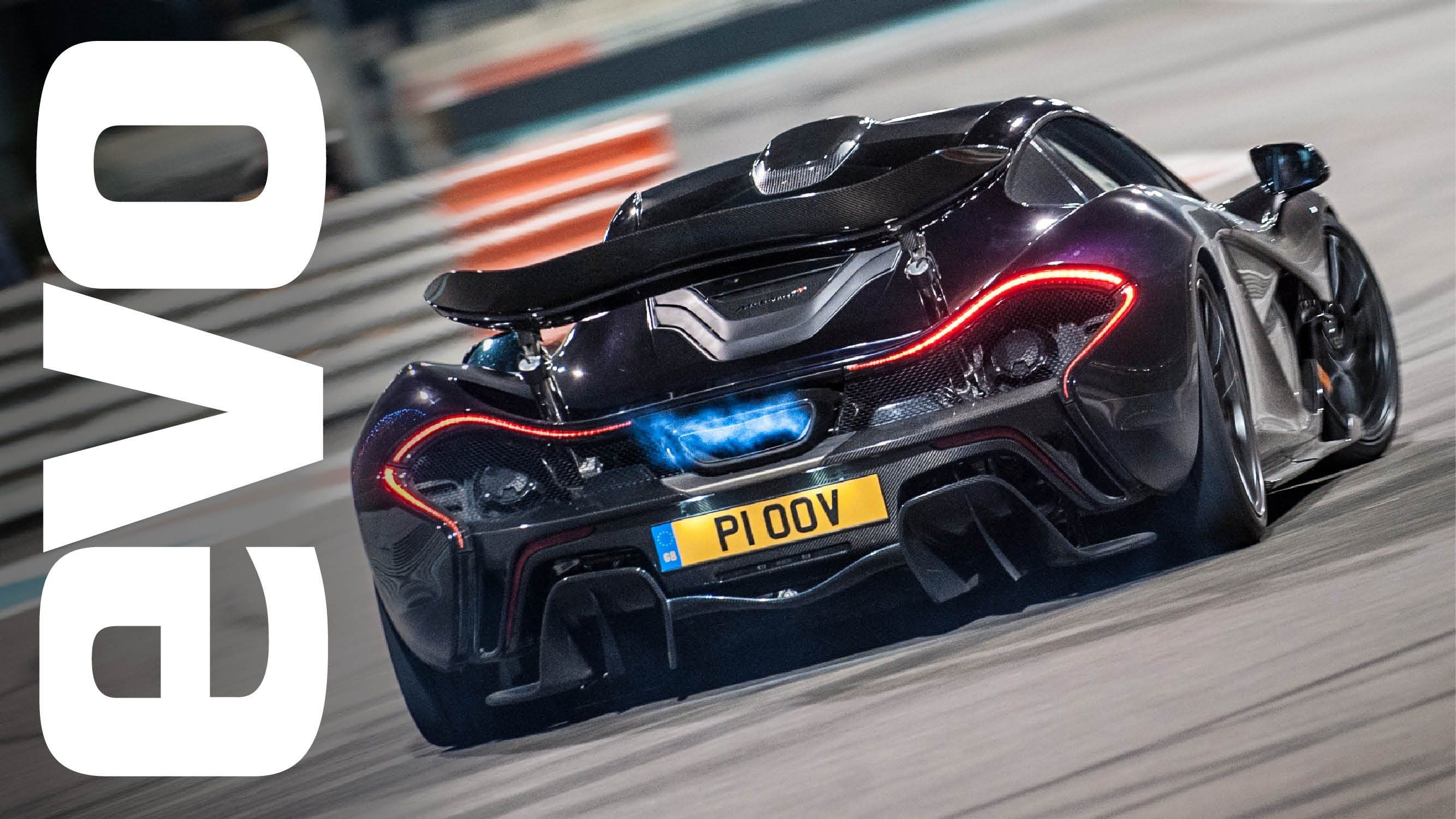 This Is Simply, One Of The Best Cars Ever. McLaren P1: Flames,