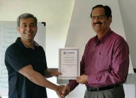 Congratulations Ajay Kumar Dixit, CEO - Power, Vedanta Limited, on receiving your Prestigious NLP Practitioner certification.  #NLP #Training from Anil Dagia in #Mumbai, #Pune ( #India ) #ICF #NLP #PRACTITIONER #DUAL #Certification #Life #Coach Training  FEB #Pune - http://www.anildagia.com/training-calendar/icf-certification/anil-dagia-s-icf-nlp-practitioner-dual-certification-training-feb-2017-pune