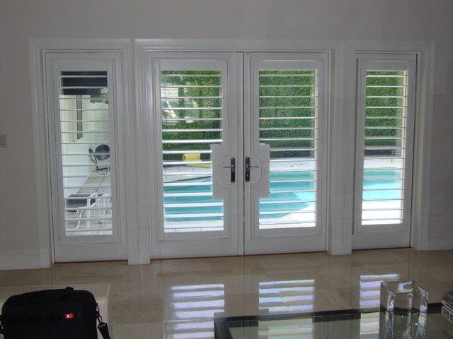 Miami Plantation Shutters Wood Composite Faux Wood For The