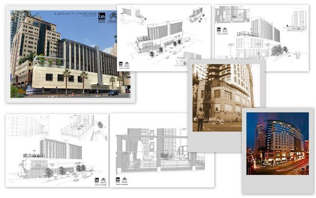 Conceptual design using Revit and Sketchup for Legacy Holdings for