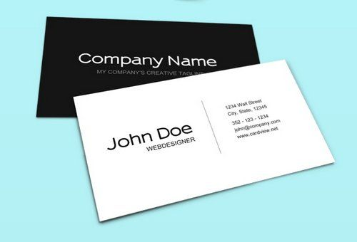 White business card template psd 39g 500340 good 2 know white business card template psd 39g 500 reheart Choice Image