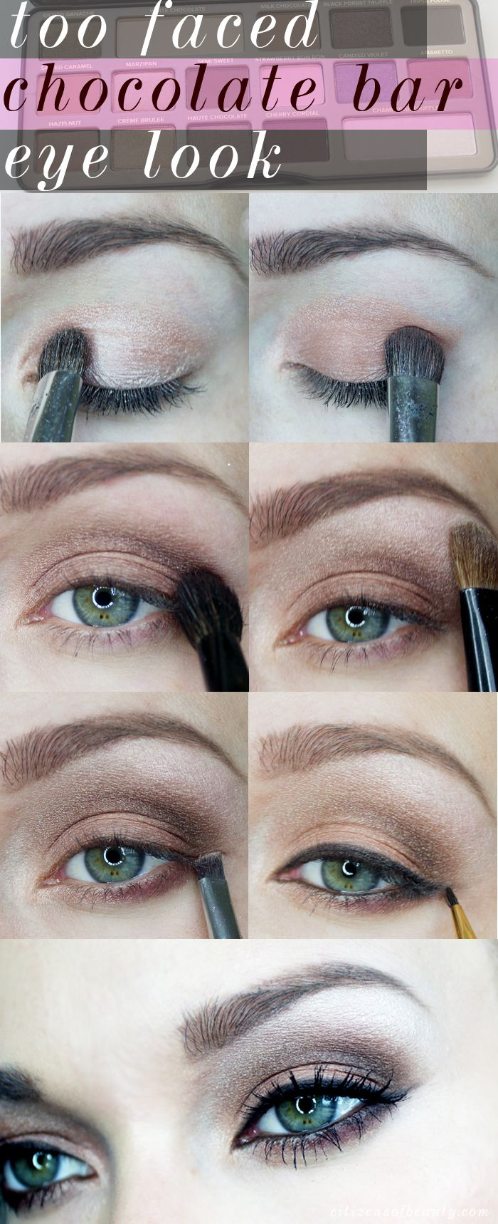 New makeup look using the too faced chocolate bar makeup bar new makeup look using the too faced chocolate bar baditri Images