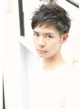 メンズ 髪型 ショート【モテる髪型 爽やか系】