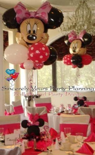 Minnie Mouse Balloon Centerpieces Triad Winston M Greensboro