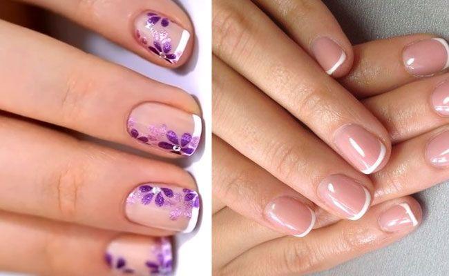 шилак фото ногтей с рисунками на короткие ногти