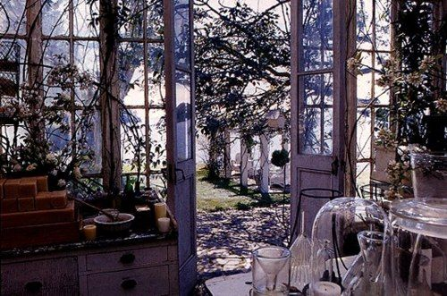 The Practical Magic House S Greenhouse Practical Magic House Magic House Practical Magic Movie
