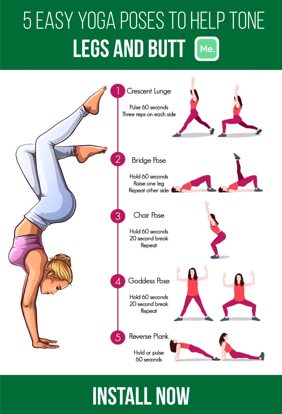 Pin on Yoga For Weightloss