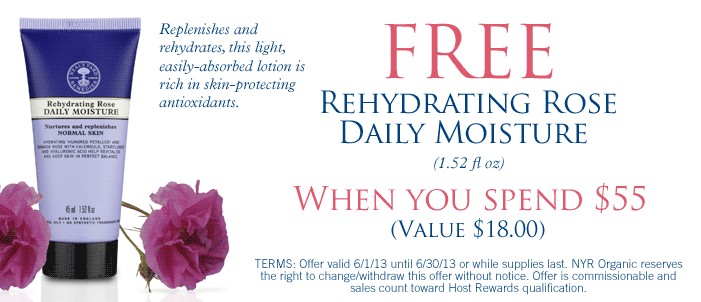 Spend $55 & get Rose Daily Moisturizer (45ml) for Free worth $18 (PLU 0992)