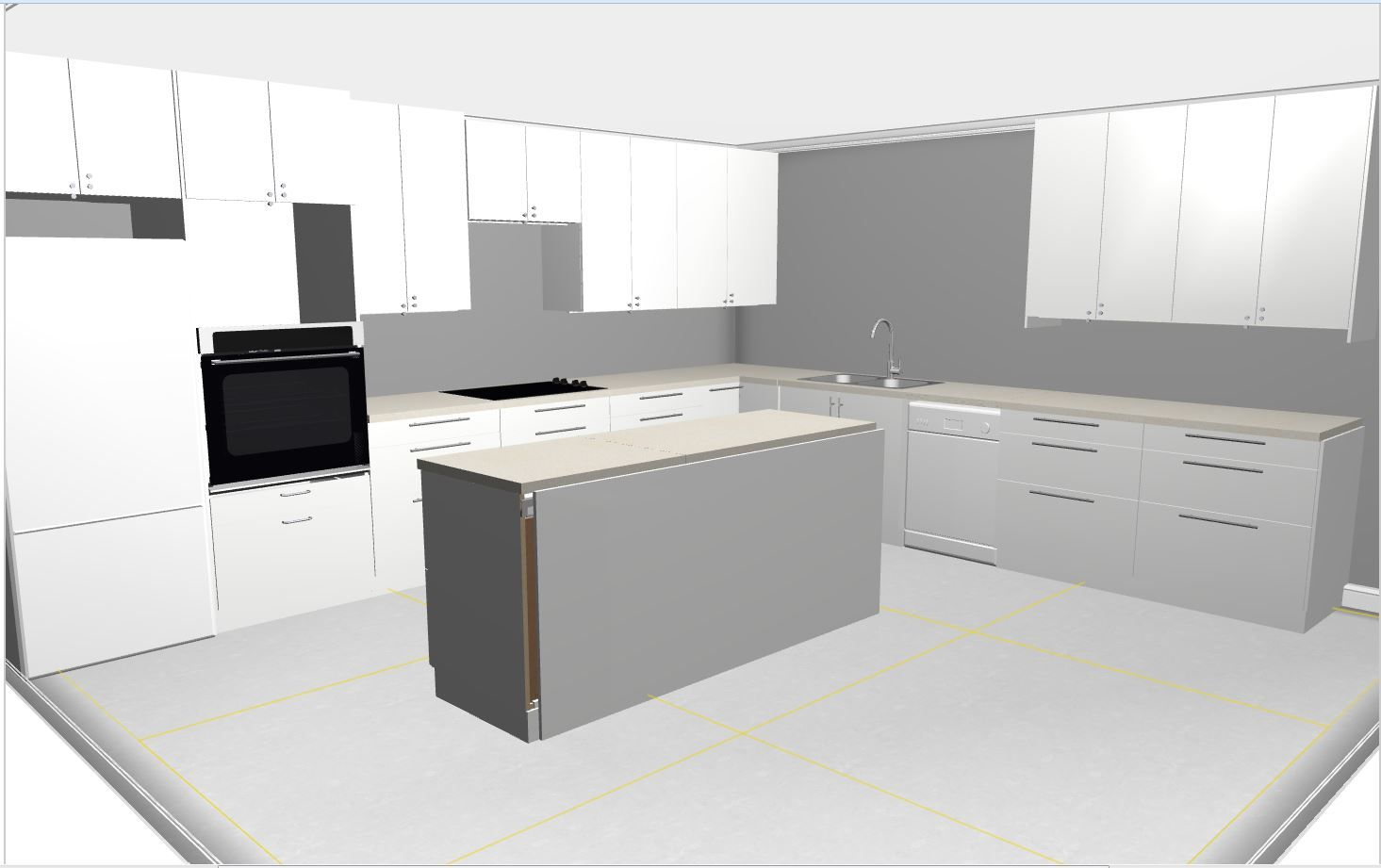 Does This Image Really Show You What Your New IKEA Kitchen Will Look Like?  See How IKD Does It Better Than IKEAu0027s Software When You Click Through.