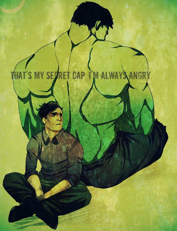 "Hulk Quotes That's My Secret Captaini'm Always Angry""  Geek At Heart ."