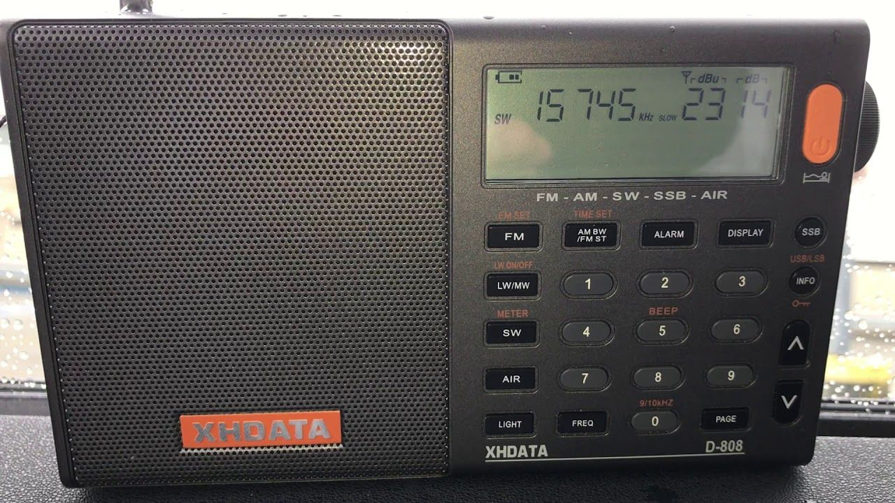 Nhk World Radio Japan 15745 Khz Copied With The Xhdata D 808 Whip