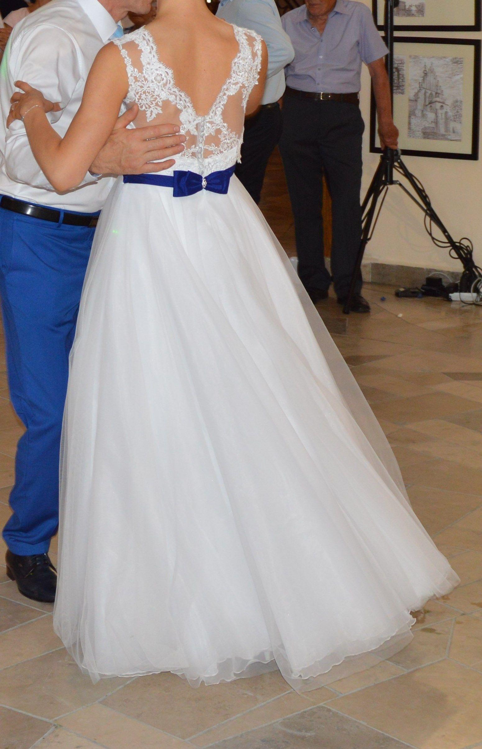 Suknia Slubna 2 W 1 Koronkowa Krotka I Dluga Z Gra 6807768004 Oficjalne Archiwum Allegro Formal Dresses Dresses Fashion