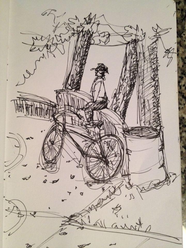 Bikes in the park