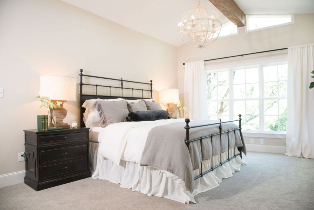 Joanna gaines master bedroom paint colors   Gorgeous Master Farmhouse Bedroom with Fixer Upper  Architecture