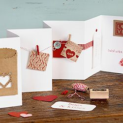 gorgeous idea for Valentine Cards