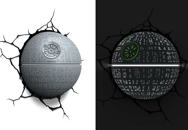 3D Death Star Light