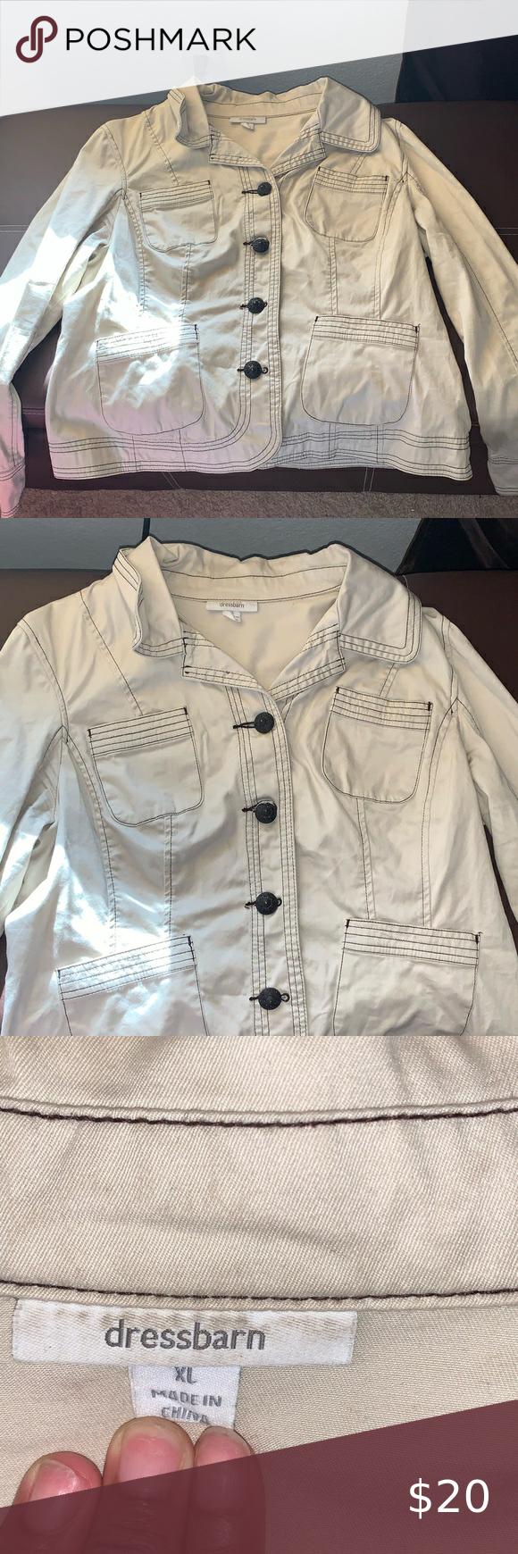 Beige Jacket Beige Jean Jacket Button Down Jackets Coats Jean Jackets In 2020 Beige Jacket Jackets For Women Jackets [ 1740 x 580 Pixel ]