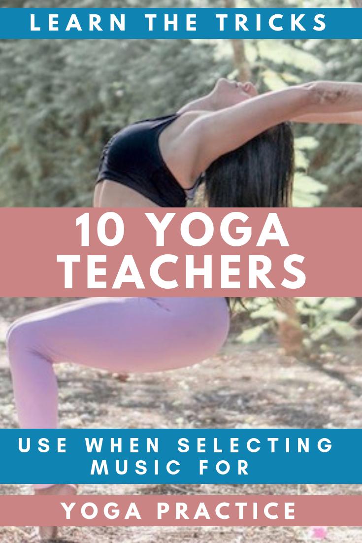 10 Yoga Teachers