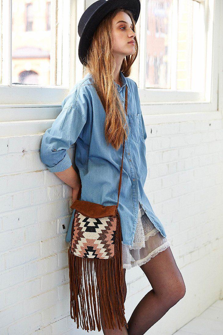 2e6e40087f6 Cleobella X UO Mers Beaded Fringe Crossbody Bag - Urban Outfitters ...