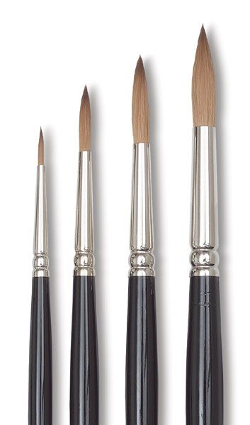 Winsor Newton Series 7 Kolinsky Sable Brushes And Set