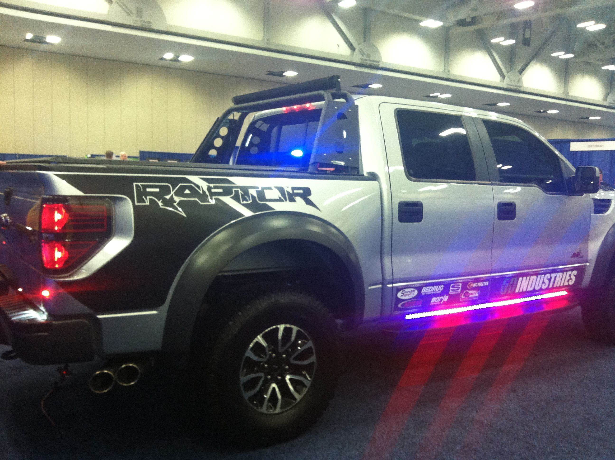 Ford Raptor Special Service Vehicle At The Police Fleet Expo In