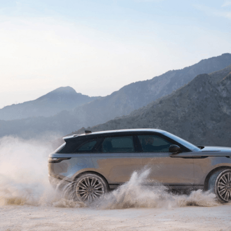 2017 Range Rover Velar Extend Rover Evoque is mixed with more conventional components, while presenting maybe a couple new outline highlights