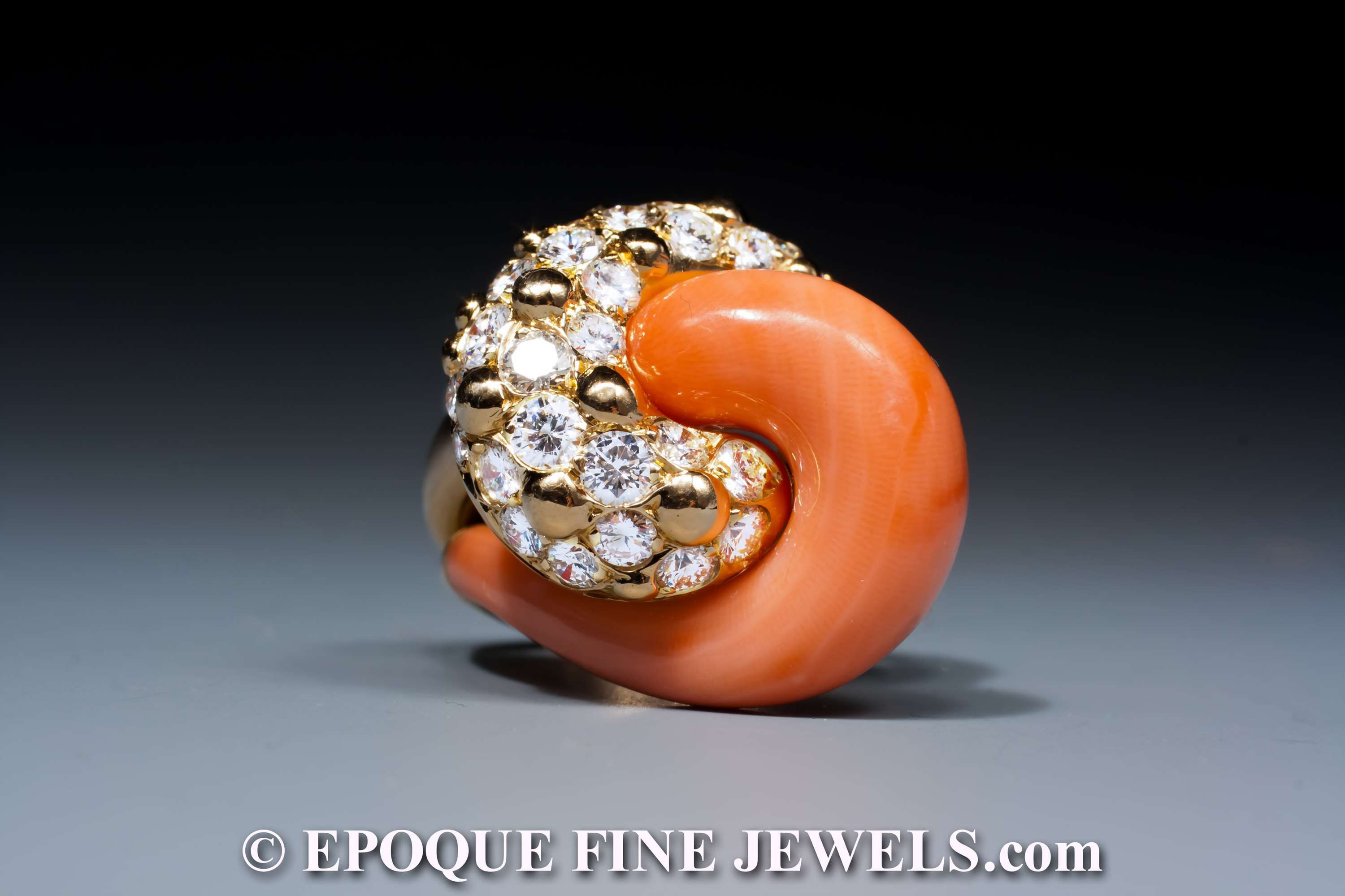 bulgari coral eleuteri parure rings peculiar collections and ring set gold