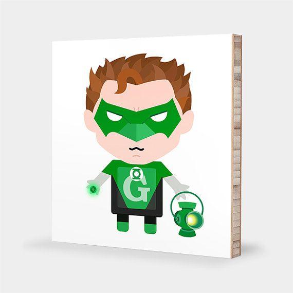 G for Green Lantern / H for Hal Jordan  ABC Block Bamboo Wall Art Series  sc 1 st  Pinterest & G for Green Lantern / H(J) for Hal Jordan : ABC Block Bamboo Wall ...