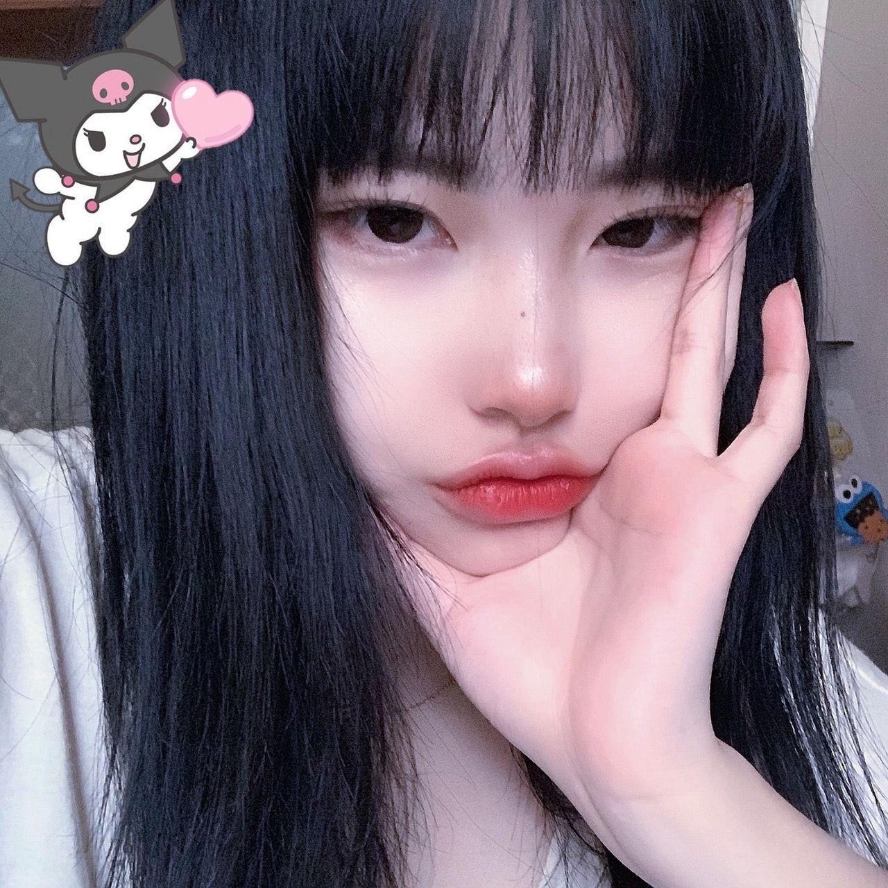 E Girl Makeup Style Egirl Makeup Style Asian In 2020 Cute Korean Girl Ulzzang Girl Asian Makeup Style