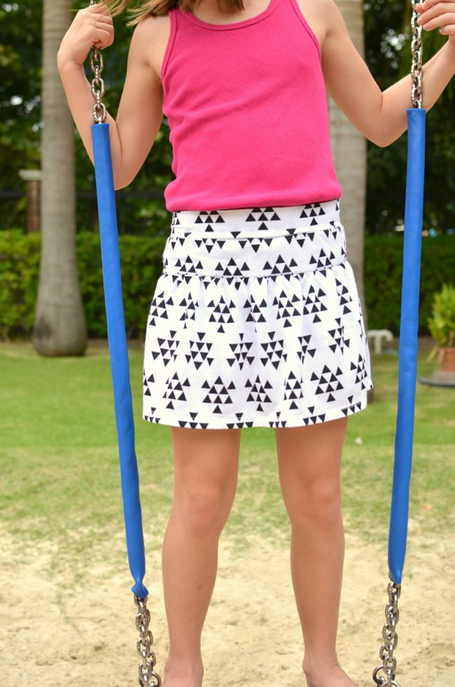 FREE Pattern: Monkey Bar Skirt | Nähen | Pinterest