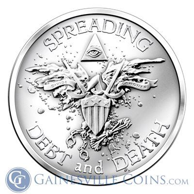 1 Oz Warbird Silver Rounds Buy Silver Warbirds Shield Bullets Gold And Silver Coins Silver Bullion Silver