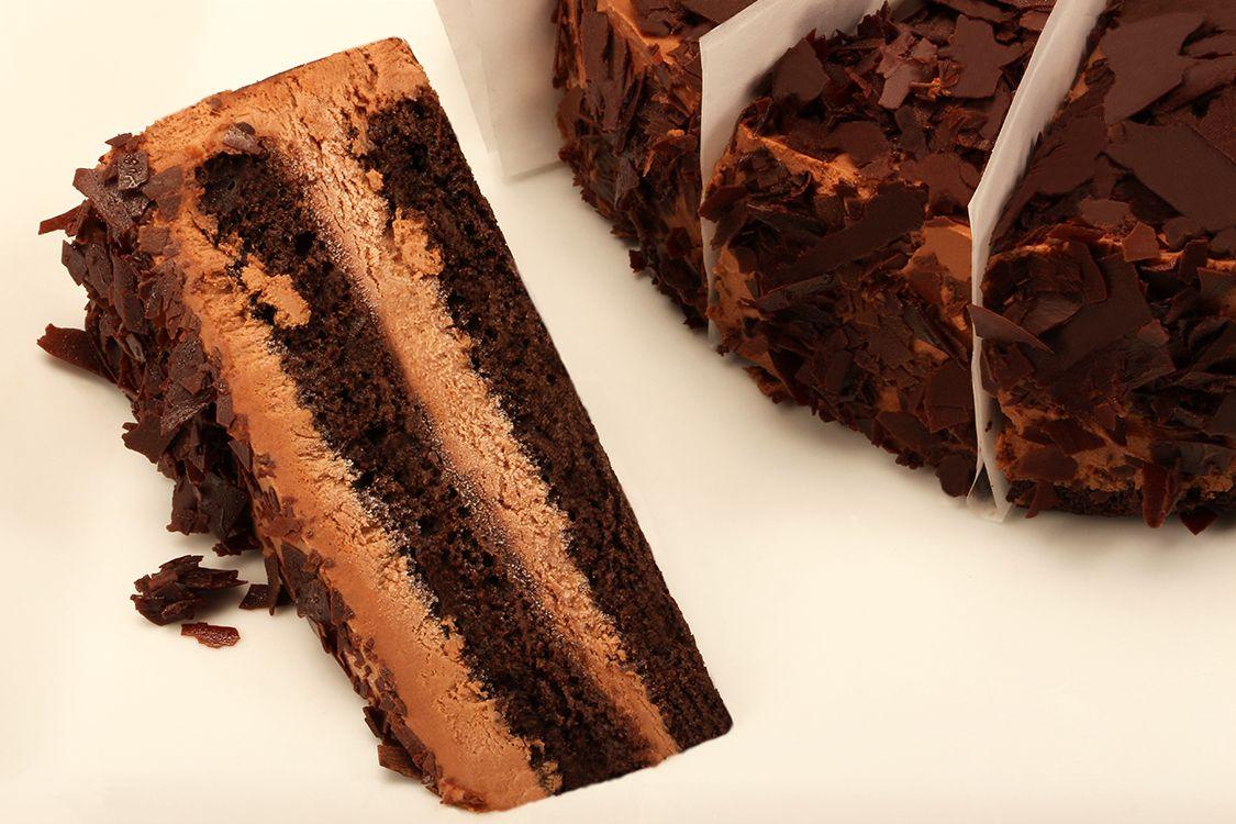 Gâteau mousse chocolat / Chocolate Mousse Cake